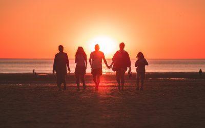 personnes à la plage