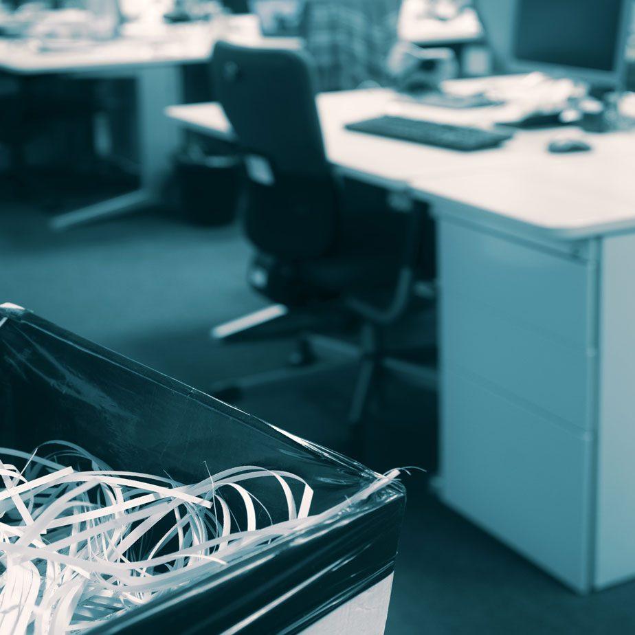destruction confidentielle de vos documents