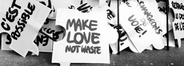make love not waste