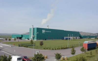 usine de recyclage de papier