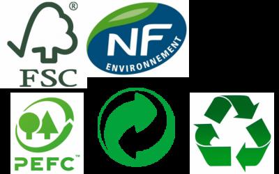 logos et labels écologiques