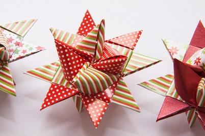 origami fleur